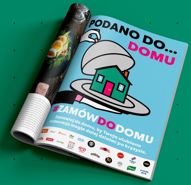 Kampania wspierająca polską gastronomię